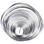 (ПОС-61) припой ПОС 61 с канифолью, спираль, диаметр 0.8 мм, 10 гр