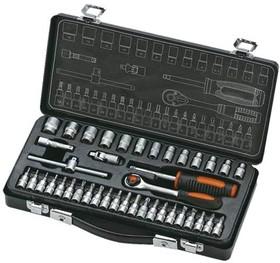 Набор инструментов КРАТОН TS-13 1/4'' 40 пр. 330х160х60 мм 2.33кг