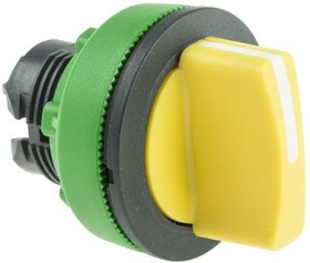 ZB5FD505, FLUSH YELLOW SELECTOR SWITCH 3P RETURN C