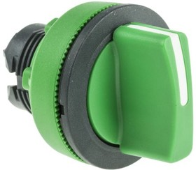 ZB5FD703, FLUSH GREEN SELECTOR SWITCH 3P L TO C