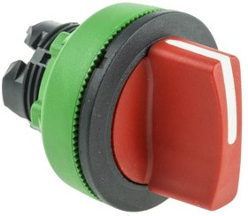 ZB5FD704, FLUSH RED SELECTOR SWITCH 3P L TO C