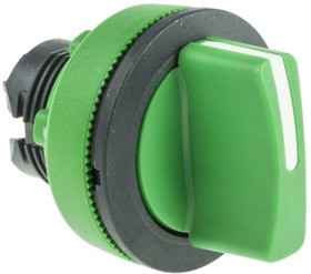 ZB5FD803, FLUSH GREEN SELECTOR SWITCH 3P R TO C