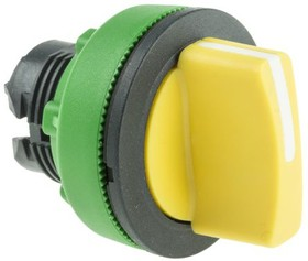 ZB5FD805, FLUSH YELLOW SELECTOR SWITCH 3P R TO C