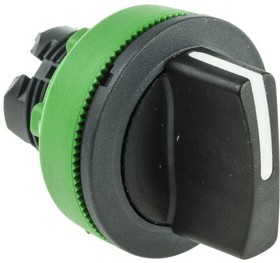ZB5FD8, FLUSH BLACK SELECTOR SWITCH 3P R TO C