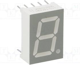 LTS-546AWC, Дисплей LED, 7-сегментный, 13,2мм, красный, 0,8мкд, анод, II.зн 1