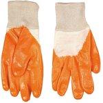 83S202, Перчатки рабочие, х/б с нитриловым покрытием, размер 10.5