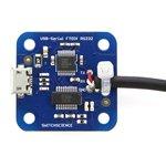 Фото 2/5 USB Console Adapter for Intel Galileo, Адаптер для программирования Intel Galileo, преобразователь USB в RS-232C.
