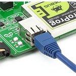 Фото 3/5 MIKROE-1099, EasyMx PRO v7 for STM32 Development System, Полнофункциональная отладочная плата для изучения МК STM32 ARM Cortex-M3 и Cortex-M