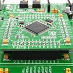 Фото 2/5 MIKROE-1099, EasyMx PRO v7 for STM32 Development System, Полнофункциональная отладочная плата для изучения МК STM32 ARM Cortex-M3 и Cortex-M
