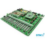 MIKROE-1099, EasyMx PRO v7 for STM32 Development System, Полнофункциональная отладочная плата для изучения МК STM32 ARM Cortex-M3 и Cortex-M