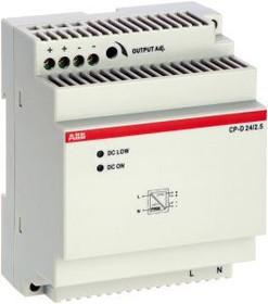 Фото 1/3 Блок питания CP-D 24/2.5 вх. 90-265В AC/120-370В DC вых. 24В DC/2.5А ABB 1SVR427044R0200