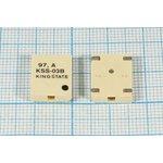 Излучатель звука магнитоэлектрический без генератора SMD 14x11x3мм, 3В/18 Ом  ...