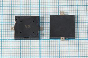 Излучатель звука пьезокерамический без генератора SMD 13x13x2.5мм, зп 13x13x2,5\1~25\\ 4,1\2C\VS1325D\VOISE