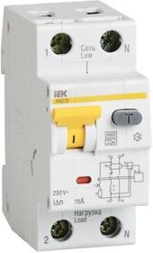 Выключатель автоматический дифференциального тока 2п (1P+N) C 40А 100мА тип A 6кА АВДТ-32 ИЭК MAD22-5-040-C-100