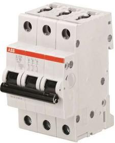 Выключатель автоматический модульный 3п D 10А 6кА S203 ABB 2CDS253001R0101