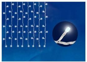 ULD-C2030-240/TWK WHITE IP67 Занавес светодиодный с эффектом мерцания, 3х2м. Соединяемый. 240 светодиодов. Белый свет. Провод белый. TM Unie
