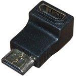 17-6805-01, Переходник Jack HDMI-Plug HDMI, угловой