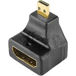 06-0177-A (17-6816-01), Переходник HDMI-Micro HDMI угловой ...