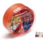 H-BOX 0,5-2,5QMM, Набор кабельных наконечников 0.5-2.5 кв.мм ...