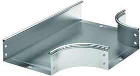 Ответвитель DPT T-образный горизонтальный 400х100 в комплекте с крепежными элементами и соединительными пластинами