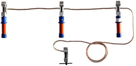 Заземление переносное ПЗРУ-1 Д для распред. устр. до 1кВ 25кв.мм Диэлектрик Д233808