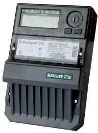Фото 1/2 Счетчик электроэнергии Меркурий 230 АRT-02 СN трехфазный многотарифный, 10(100), кл.точ. 1.0/2.0, Щ, ЖКИ, CAN/RS485, 2 тарифа МСК