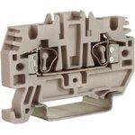 Клемма пруж. HMM.2/GR 2.5кв.мм сер. DKC ZHM500GR