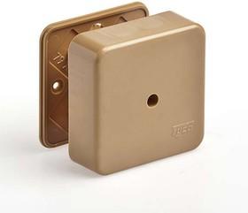 Коробка универсальная для кабель-каналов 80х80х25 кор. IP40 Рувинил 65005К