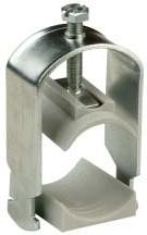 Зажим кабельный для С-профиля диам.кабеля 22-30 мм