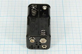 Фото 1/2 Батарейный отсек для 4-х элементов AA=316; быстросъёмный; № 210 TS бат держ AA4\\\TS\BH343B\COMF