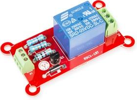 Фото 1/2 RDC1-1RTA Relay, Одноканальный релейный модуль для Arduino, Raspberry Pi проектов