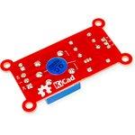 Фото 2/2 RDC1-1RTA Relay, Одноканальный релейный модуль для Arduino, Raspberry Pi проектов