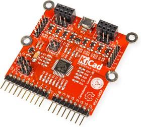 Фото 1/2 RDC2-0030a, Восьмиканальный модуль сенсорного управления. STM32F042K6T6