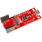Фото 3/5 RDC1-USB-UART, Преобразователь USB-UART, CP2102, USB micro с возможностью установки Arduino Mini