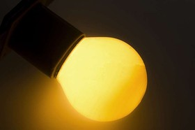 Фото 1/5 Лампа накаливания BL 10Вт E27 жел. NEON-NIGHT 401-111