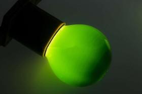 Фото 1/4 Лампа накаливания BL 10Вт E27 зел. NEON-NIGHT 401-114