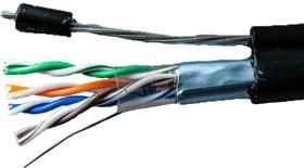 Кабель FTP 4х2х24AWG кат.5е медь с тросом Standart 305м (м) SUPRLAN 01-1026 (за 1 м)