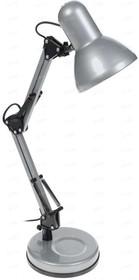 Светильник KD-313 настол. база 230В 60Вт E27 серебр. Camelion 11000