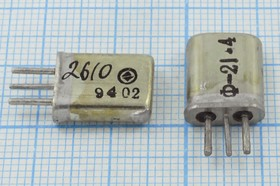 Фильтр кварцевый полосовой 21.4МГц 2-го порядка, полоса 15кГц ф 21400 \пол\ 15/ \МА-3\3P\ФП2П8- 437\\(ф-21,4)