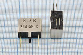 Фильтр кварцевый полосовой 21.4МГц 10-го порядка, полоса 15кГц ф 21400 \пол\ 15/3\MCF16\4P(2P+ 2P)\21M15E-E\10пор\