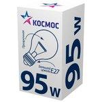 Лампа накаливания A50/A55 95Вт E27 220-240В прозр ...