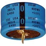 381LX222M200A052, Электролитический конденсатор, 2200 мкФ ...