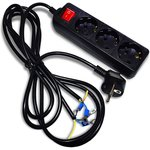 Комплект проводов для подключения ЛАТРа в сеть (до 7А)