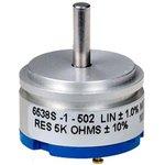 6538S-1-502, 5 кОм, Резистор прецизионный многооборотный