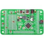 MIKROE-793, Ready for XMEGA Board, Отладочная плата на базе ATxmega128A1 с макетной областью