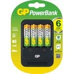 Зарядное устройство GP PB570 и 4 аккумулятора GP АА (LR6) ...