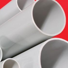 Труба гладкая жесткая ПВХ 20 мм тяжелая серая (3м)
