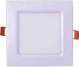 Светильник светодиодный ультратонкий встраив. PPL-S 6Вт 4000К IP40 WH 120мм квадрат Jazzway 5008229A