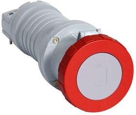Фото 1/2 Розетка кабельная 63А 3P+N+E IP67 ABB 2CMA166906R1000