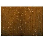"""Фото 3/3 235-301-6, Гирлянда """"Светодиодный Дождь"""" 2х1,5м, постоянное свечение, прозрачный провод, 230 В, диоды ЖЁЛТЫЕ, 1"""